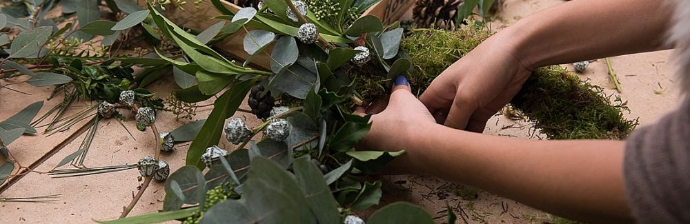Deck the Halls with Holiday Wreath Making - WAITLIST