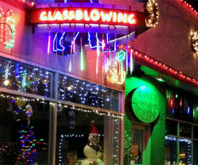 Holiday Workshop at Seattle Glassblowing Studio - SOLD OUT