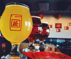 Beer dinner with Lucky Envelope Brewery 1