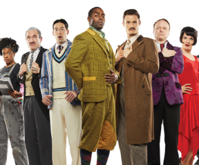 The Play That Goes Wrong at the Paramount Theatre