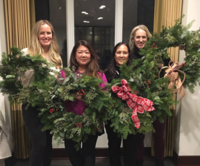 Holiday Wreath Making 1