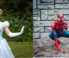 Spiderman & Cinderella Story Time